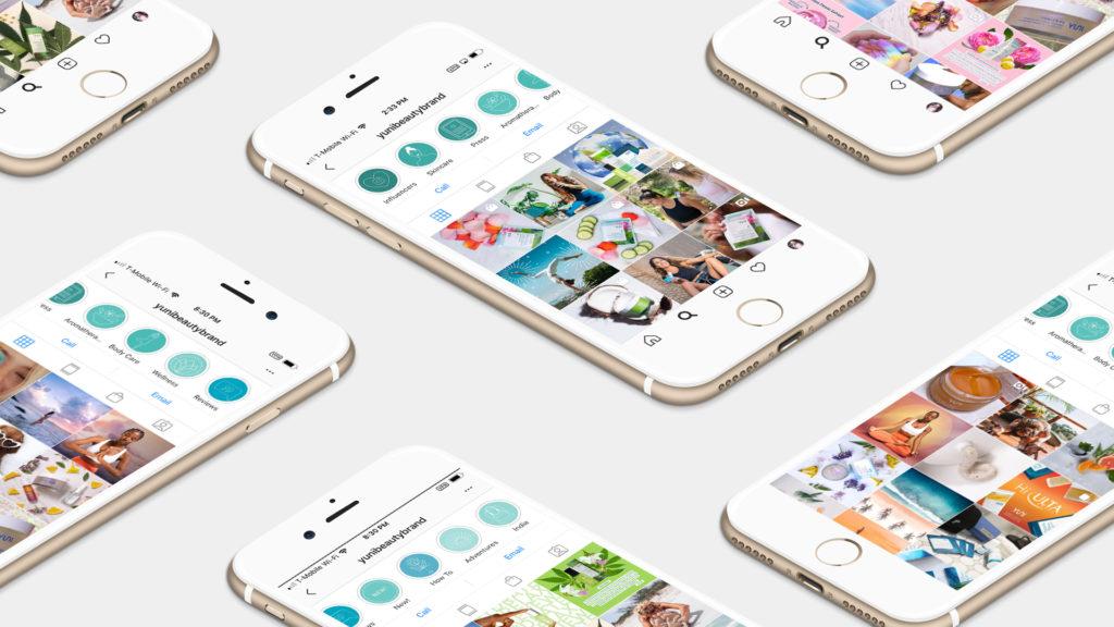 YUNI Beauty Social Media Design